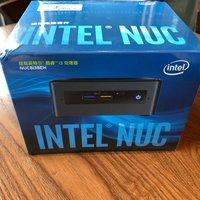 intel NUC8i3BEH台式机开箱包装(接口|按键|正面|电源)