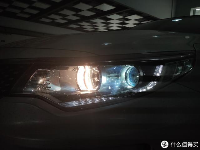 南京改灯,悦达起亚K5大灯升级LED双光透镜,让驾驶更舒心