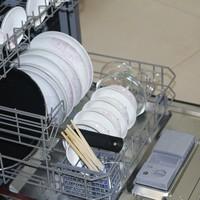 华帝H6嵌入式洗碗机使用总结(清洗 高温 杀菌)