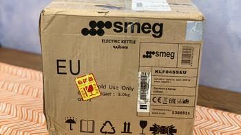 SMEG KLF04温控电热水壶开箱展示(说明书|配件|开关|缓冲盖|滤网)