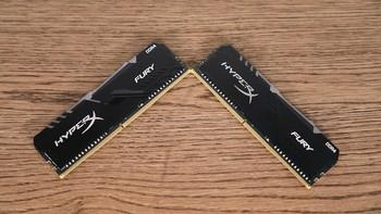 HyperX FURY DDR4 RGB内存外观展示(散热器 灯条)