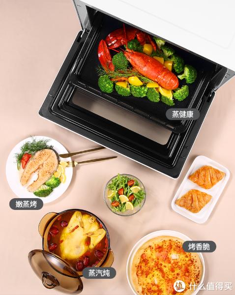 升级语音智控、一机多用:松下联合天猫精灵 推出 定制版智能家用电蒸烤箱TM210