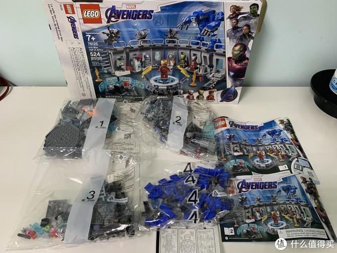 LEGO 乐高 76125 钢铁侠机甲陈列室
