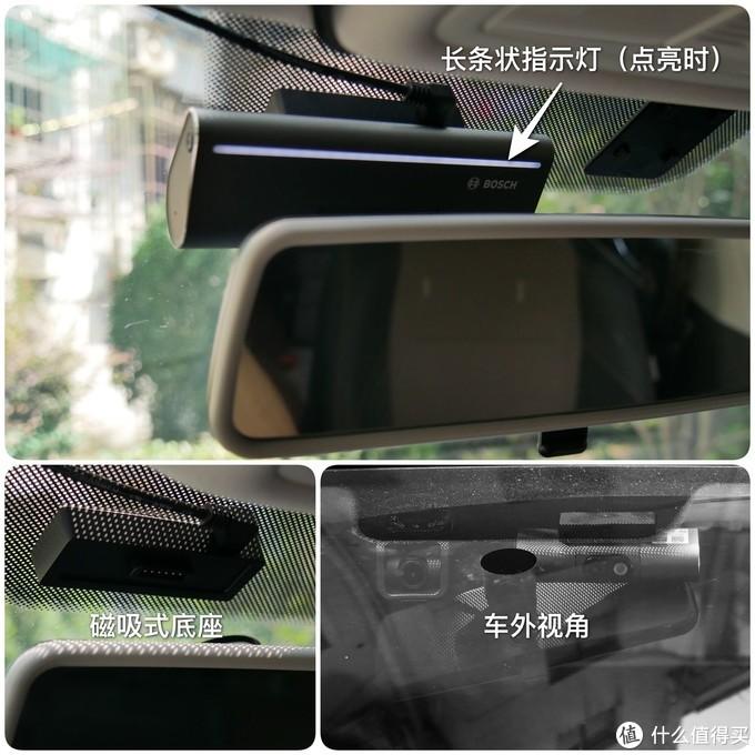G7的底座通过3M胶黏贴在车窗上,并通过磁吸方式与主机相连,电源接在底座上。