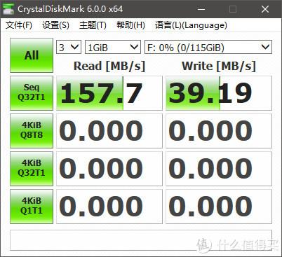 不出意料之外的体验,SanDisk CZ74 闪存盘读取速度完全达标,写入速度时高时低