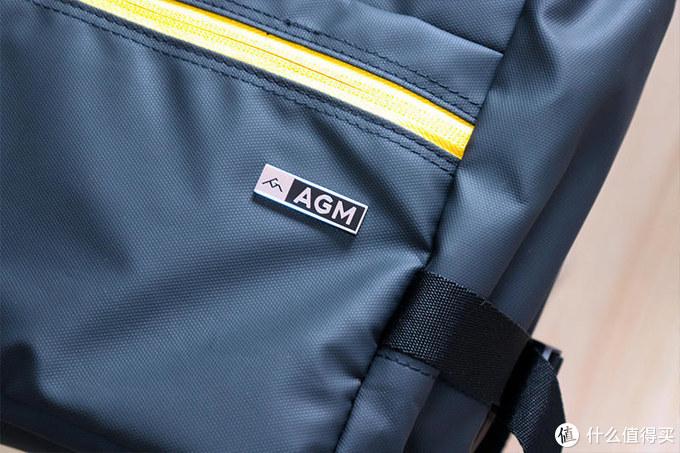 给三防手机整一套大房子?AGM黑盾防水双肩背包体验