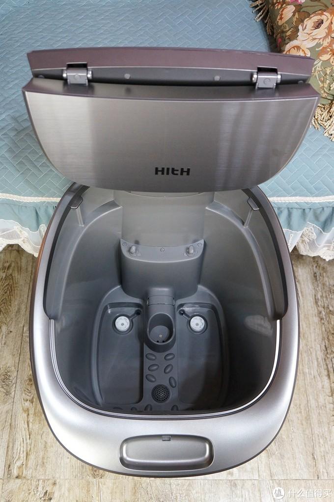 浴缸等级的享受!HITH智能足浴机器人S体验