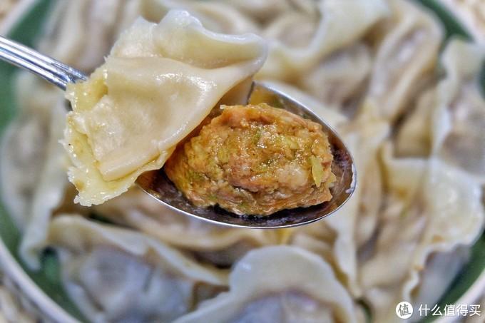 老妈的大肉丸饺子!!灌汤巨香,三盘都不够吃