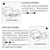 圈厨台式洗碗机安装过程(吸水管|排水管|接口)