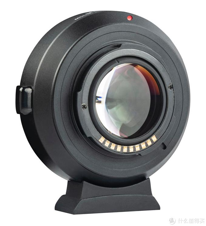 唯卓仕ef-fx2减焦增光转接环背面