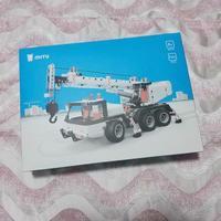 米兔积木工程吊车开箱细节(零件|手册|车尾|齿轮)