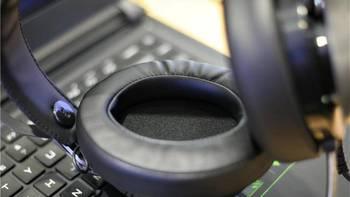 Dacom GH05 游戏耳机佩戴体验(头梁 耳罩 游戏 呼吸灯 降噪)