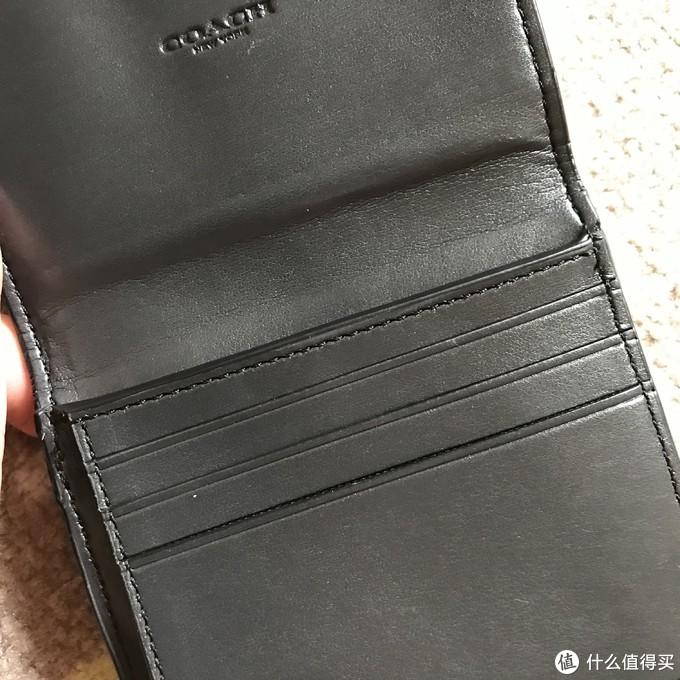 COACH PVC配皮短款钱包F87589 IMAA8