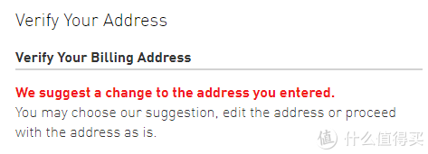 下面选择you entered,因为有我地址我就没截完整的图。