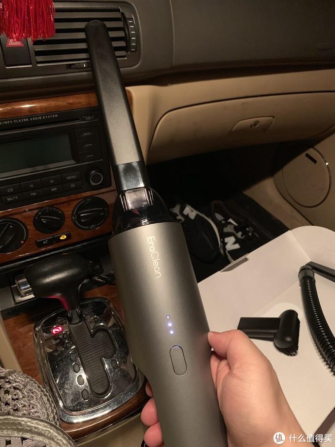 可吹可吸的EraClean VC280-R01 手持式车载吸尘器
