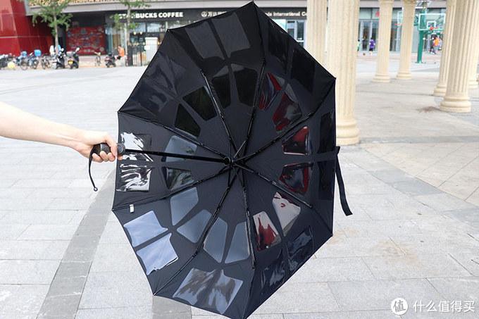 一键收伞,三秒卷束:Chrissie Morris绅士手开自动美收伞体验