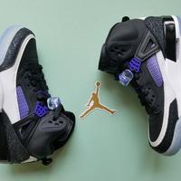 Air Jordan Spizike篮球鞋外观展示(配色 面料 后跟 鞋舌)