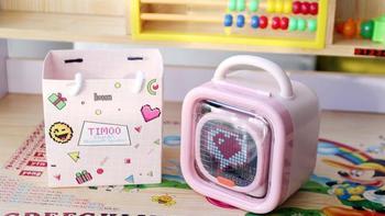 点音Timoo蓝牙音箱包装展示(收纳盒|屏幕|造型|接口|指示灯)