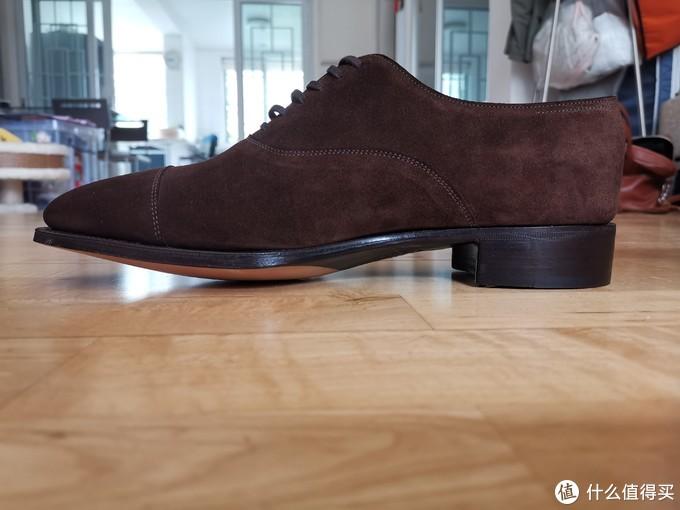 John Lobb classic 与 prestige线的两双麂皮鞋比较开箱