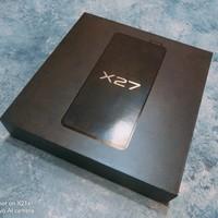 vivo x27安卓手机外观展示(摄像头 数据线 耳机)