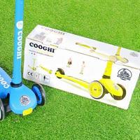 COOGHI V 儿童滑板车包装细节(颜色 配件 轮子 轮毂 刹车)