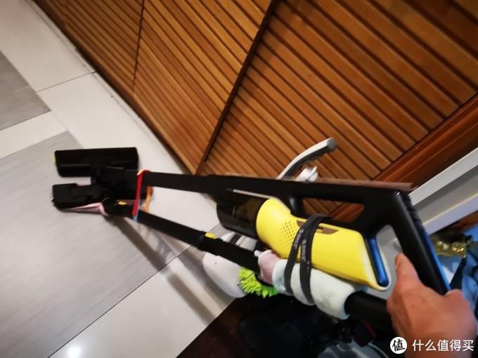 低成本DIY组合卡赫无线吸尘器+蒸汽拖把,一次完美完成吸尘和蒸汽拖地