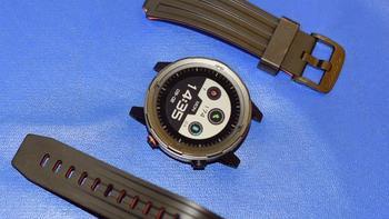 咕咚升级版运动手表X3细节展示(主体|表带|按键|表盘|软线)
