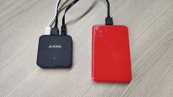 存宝Q2网盘转接器连接使用(APP|模式|速度|同步)