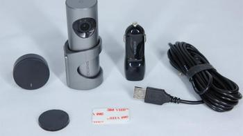 盯盯拍记录仪细节展示(包装|镜头|usb接口|指示灯)