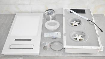 风暖浴霸细节展示(遥控器|面板|电池)