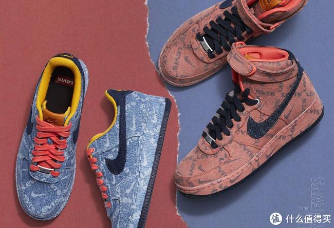 超高人气的丹宁空军1号:Levi's x Nike By You AIR FORCE 1 联名系列 开启抽签登记