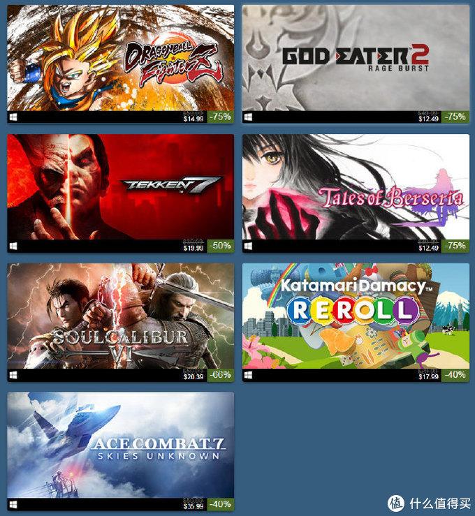 重返游戏:Steam万代发行商周末,多款游戏迎来史低