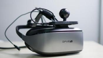 大朋E3 4K游戏套件外观展示(机身|线缆|头带|散热口)