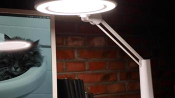 孩视宝VL235B全光谱台灯外观展示(灯盘|底座|电源线|按键)