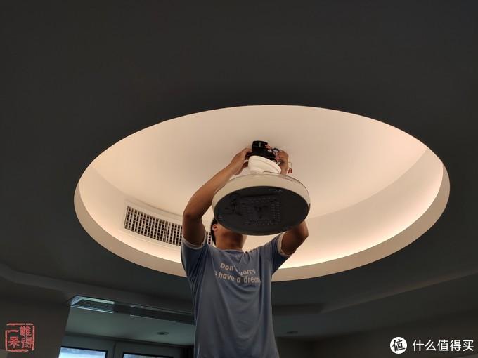 欧普 OPPLE 隐形吊扇灯开箱与体验