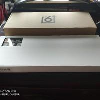罗技gk64键盘开箱展示(边框 外壳 键帽 接口)