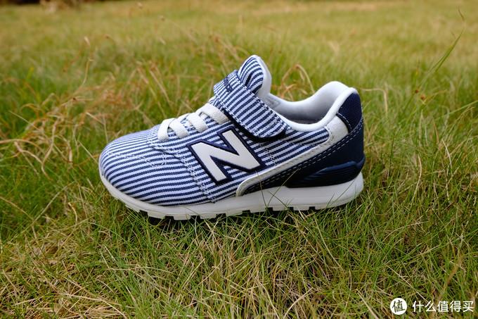 跟着大妈买,new balance经典996复古条纹童鞋 入手体验