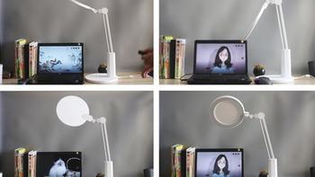 孩视宝智慧双光源台灯使用功能(操作|定时休息|自然睡眠|感光|色温)