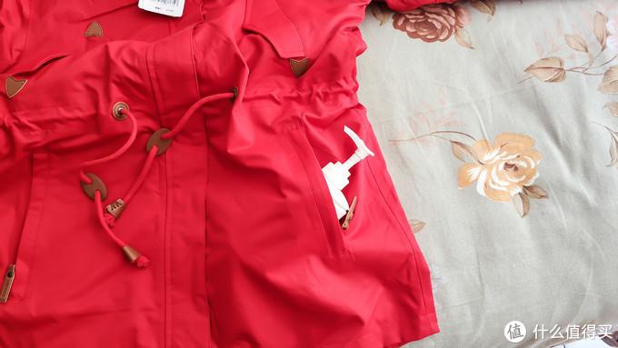小仙女值得拥有:Lonsdale 龙狮戴尔 中长款防风保暖三合一冲锋衣