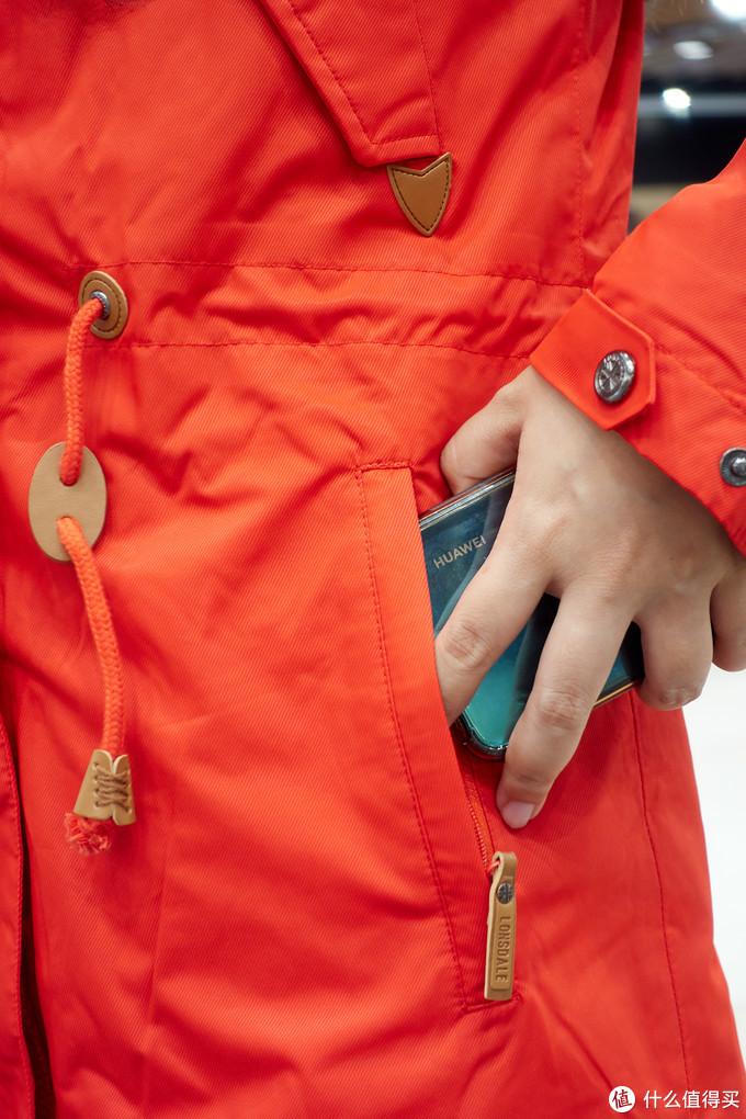 为您遮风挡雨保暖——龙狮戴尔S9596冲锋衣