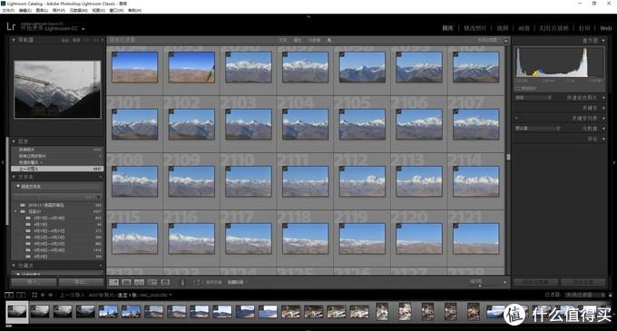 大概四千多张RAW格式的照片吧,每张20M左右