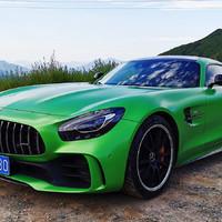奔驰AMG GT R跑车使用体验(转速 油门 模式 发动机 排气声)