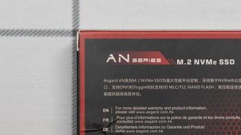 阿斯加特AN3 NVMe SSD细节展示(金手指|主控|颗粒)