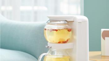 全自动茶饮机 MZ-1151外观介绍(下壶 水箱 上盖 开关 说明书)