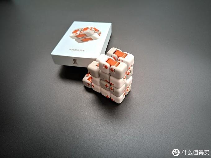 3盒米兔指尖积木,还能这样玩?