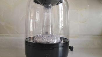 亚都加湿器外观展示(水箱|底座|按键|滤水芯|指示灯)