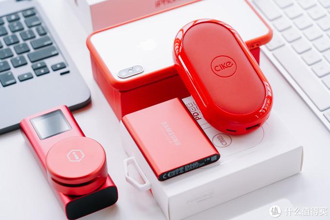 无线有线二合一,出门只带一个好:cike 小红玩无线充移动电源