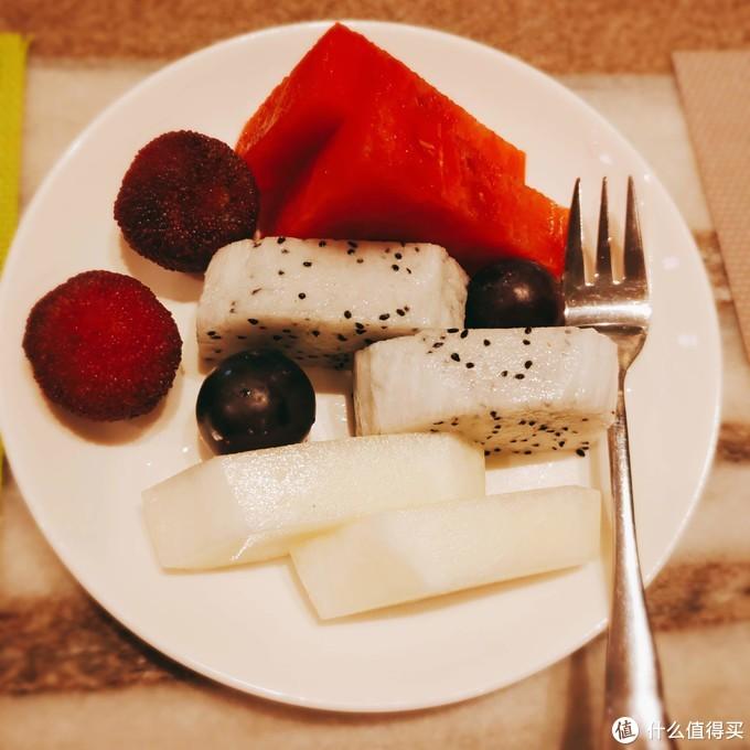 赠送的水果