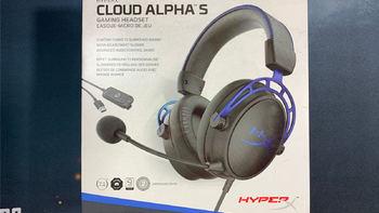 HyperX Cloud Alpha S 阿尔法加强版游戏耳机外观图片(呼吸灯|耳罩|头带|金属框架|麦克风)
