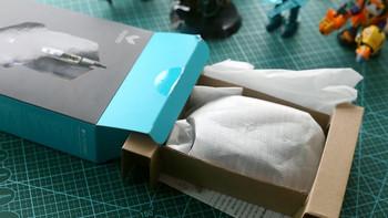 雷柏V20PRO双模鼠标开箱展示(包装|接收器|说明书|连接线)